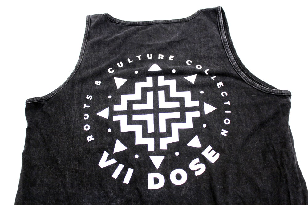 Image of Summer Shine Tank Top  (Black Mineral Washed)