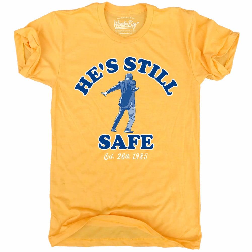 Image of He's Still Safe