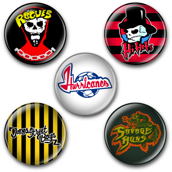 Image of The Warriors - Button Badges