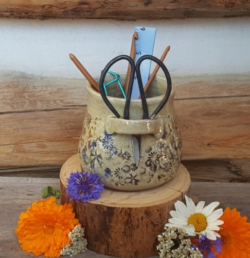 Image of Small Crafter's Catch-all and snips: Mountain Flower Honey #1