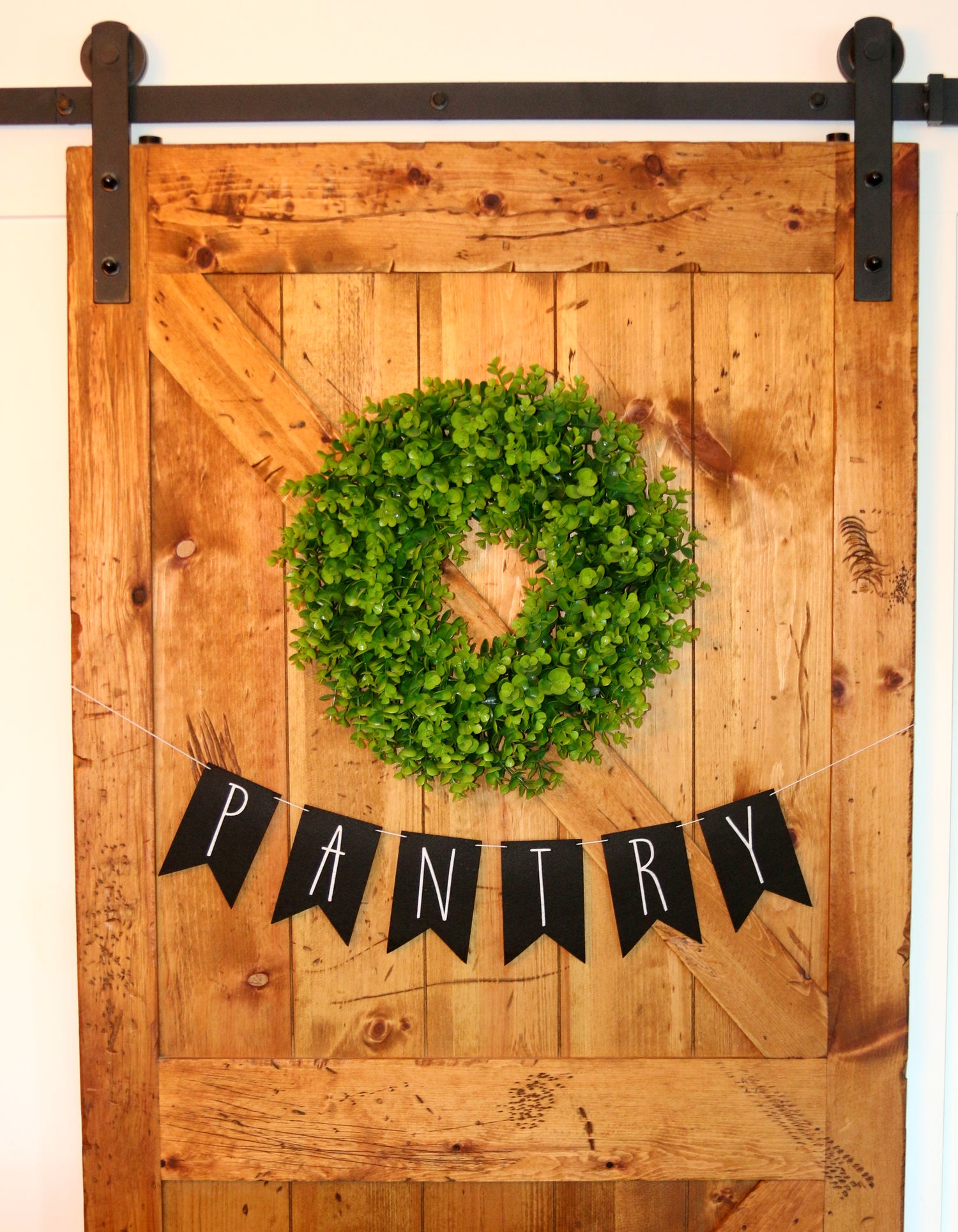 Image of Customized Farmhouse Banner, Reusable Felt