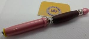 Wooden Beaded Penlight - Pink