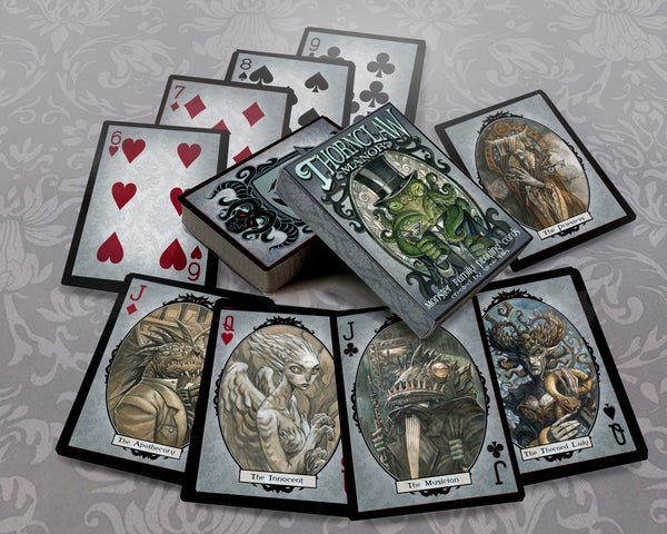 Image of Thornclaw Manor Extended Family Deck