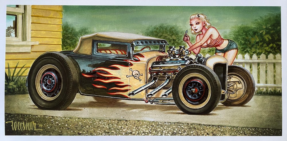 Image of Modified Sport Coupe Print 2