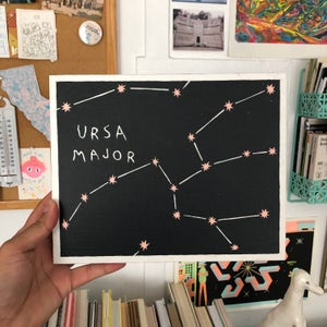 Image of Ursa Minor Painting