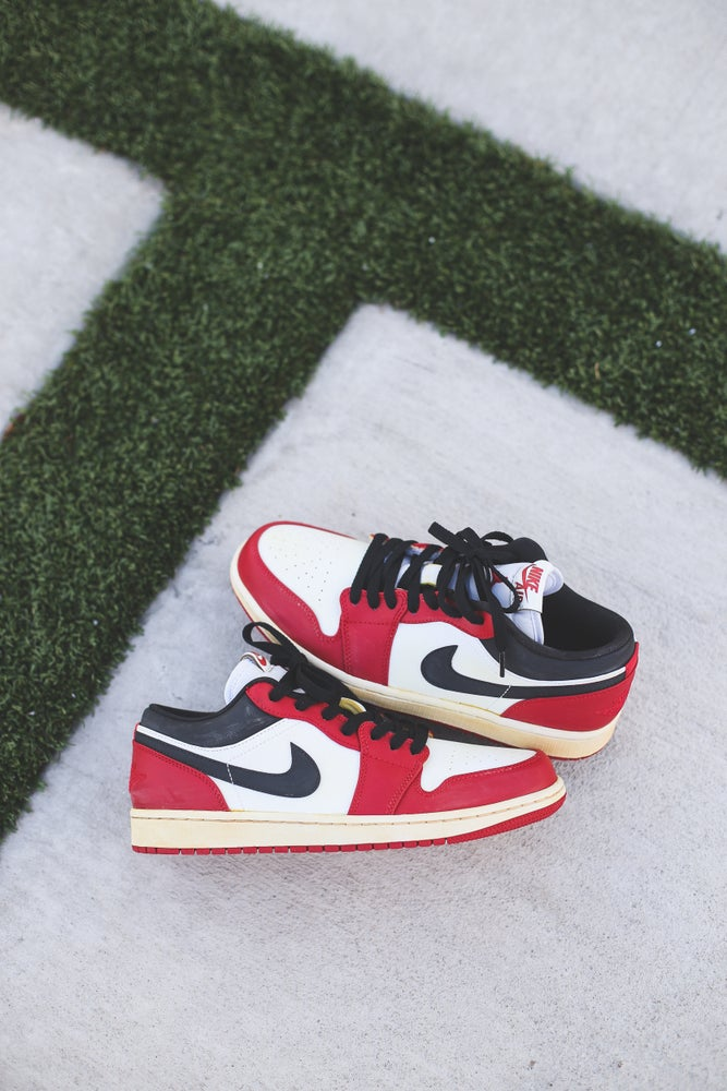 Image of Jordan 1 low Chicago '85 inspired