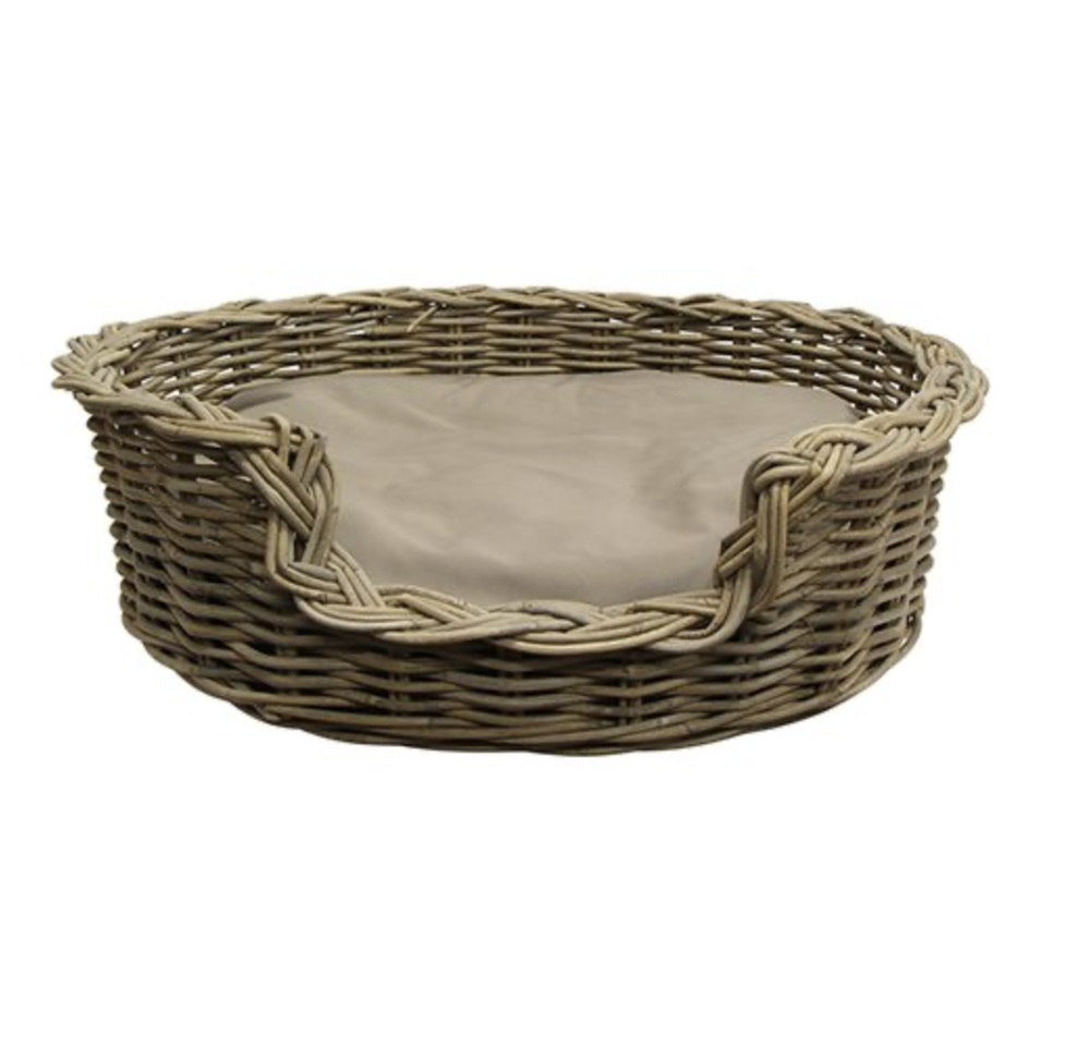 Image of Rattan Pet Bed