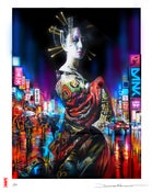Image of 'Queen Of Colours ( mural edition )' - Limited edition print
