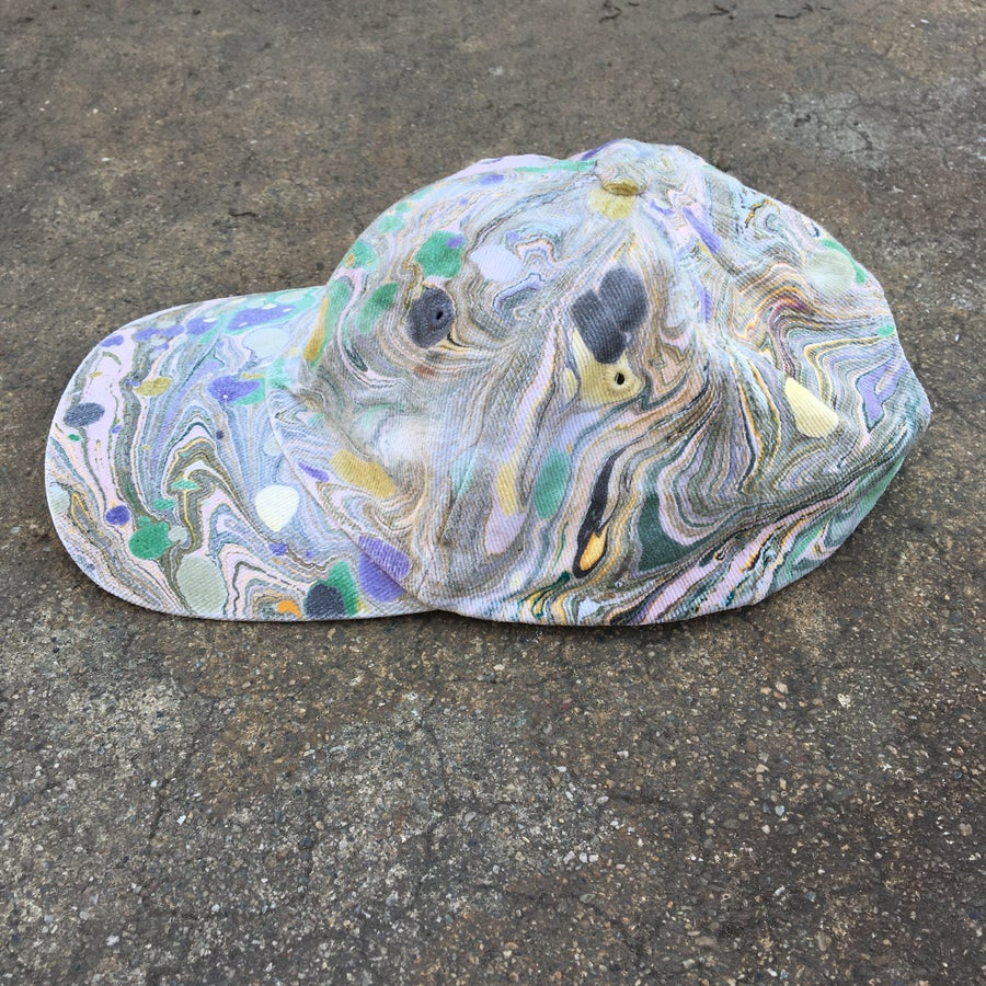 Image of Marbled Dad Hat no. 4