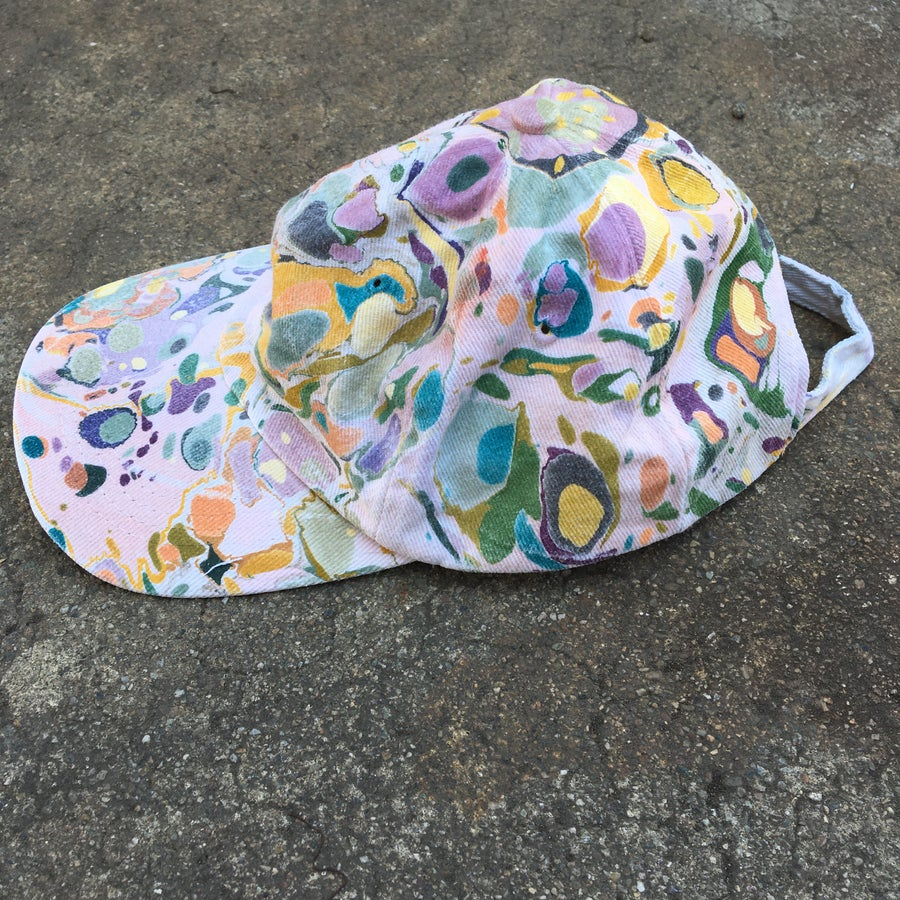 Image of Marbled Dad Hat no. 6