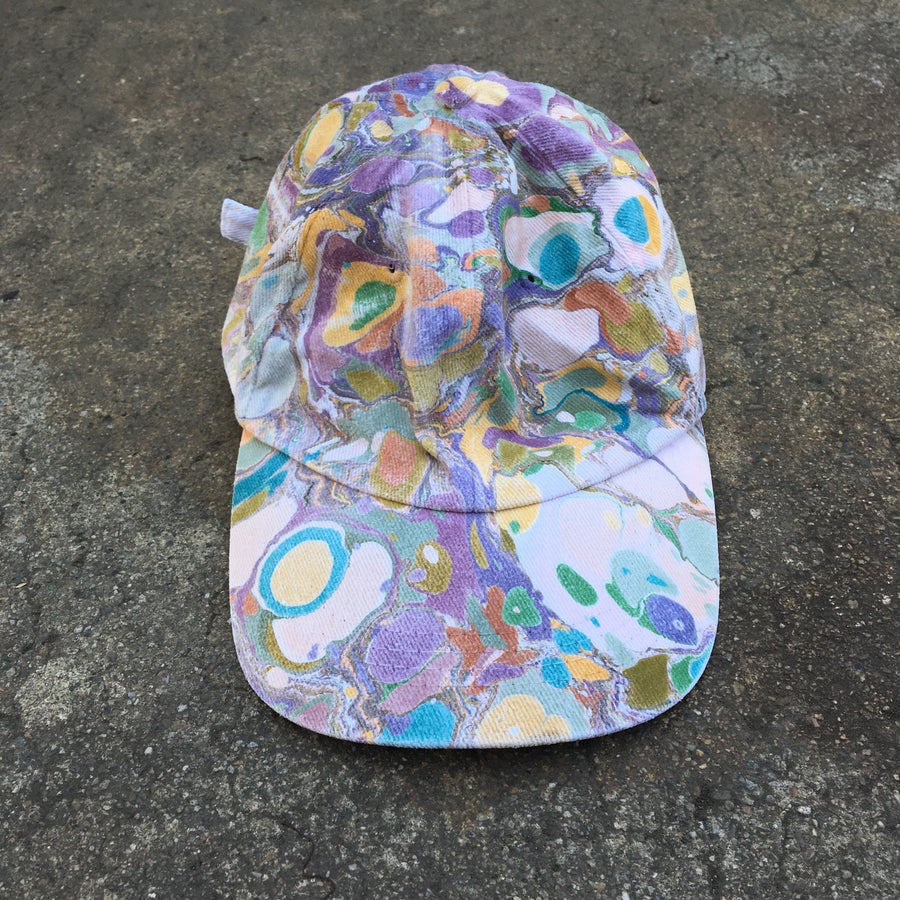 Image of Marbled Dad Hat no. 7