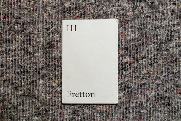 Image of Opening Lines III: Tony Fretton