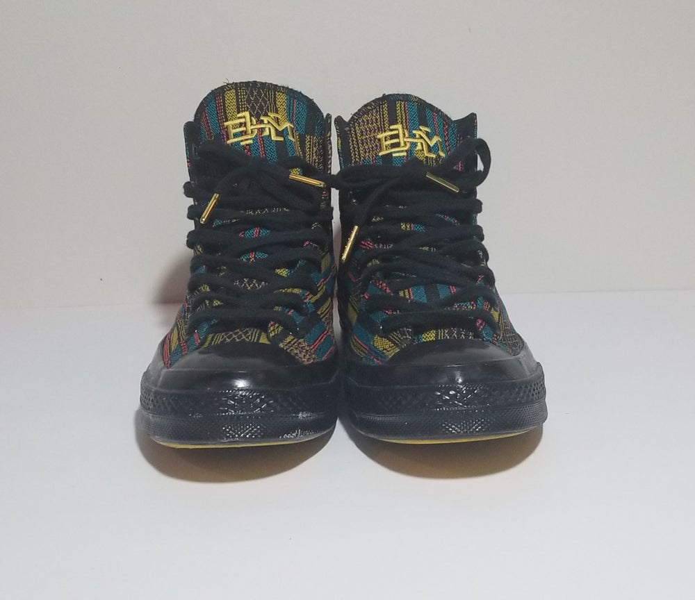 Image of Chuck 70 Hi 'Black History Month' - Men's Size 9/Women's Size 11