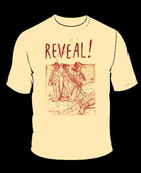 Image of T Shirt (missljud) Brown Print *NEW*