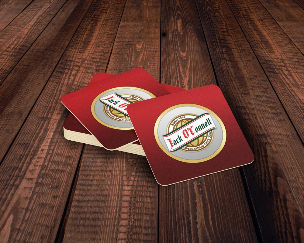 Jack O'Connell Beermats