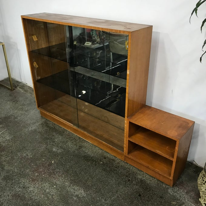 Image of LARGE 1960s BOOKCASE