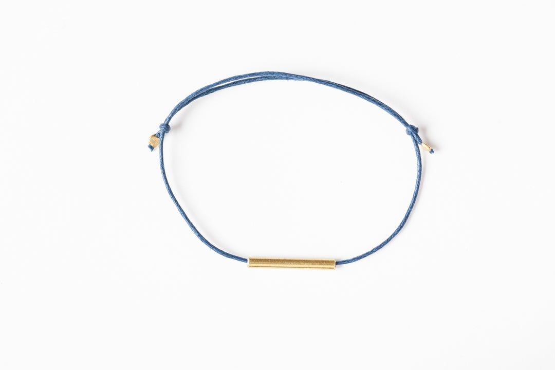 Image of Unisex Brass Tube Bracelet