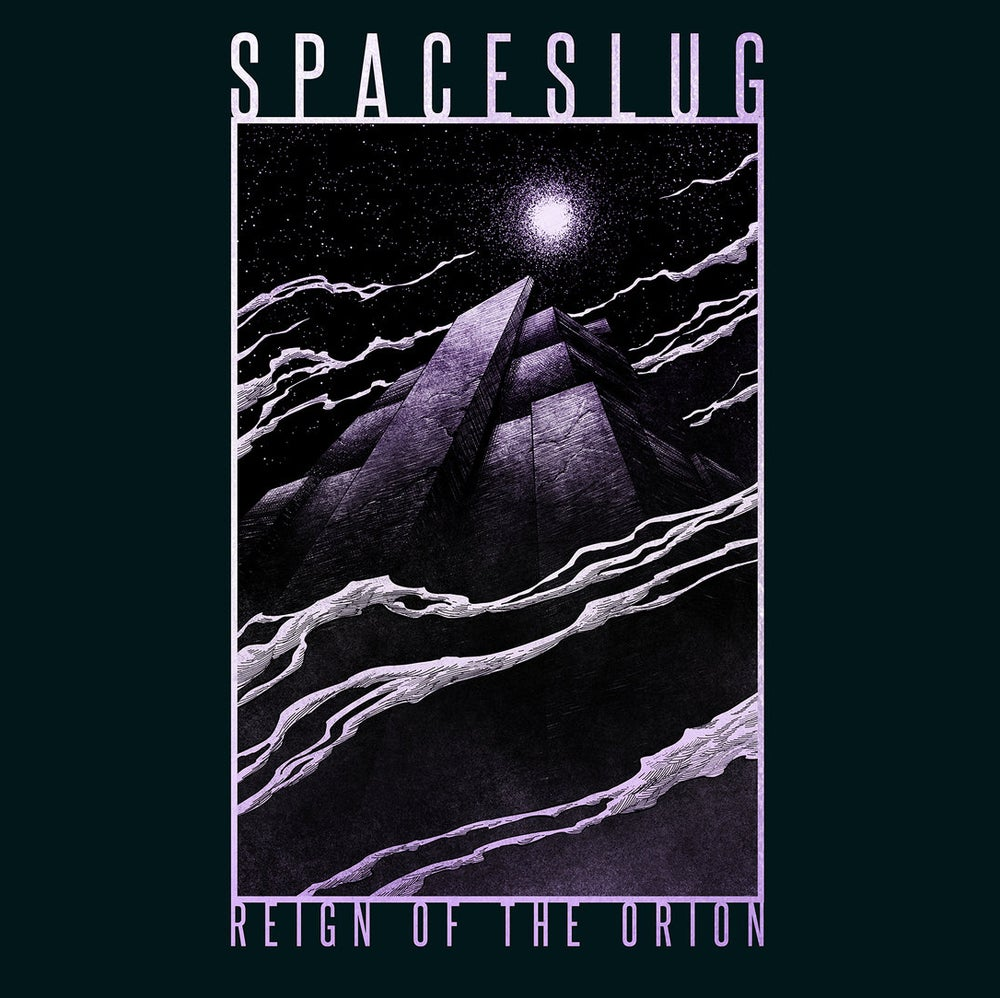 Image of SPACESLUG - Reign Of The Orion. Solid purple. 1Lp.