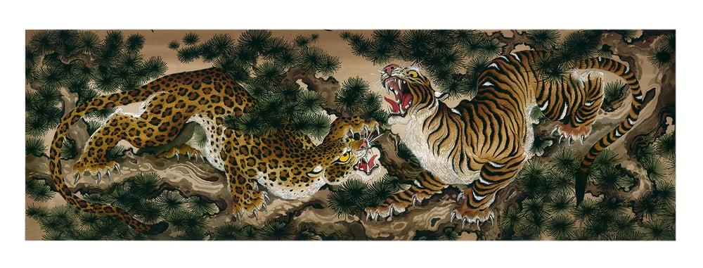 Image of Cat fight