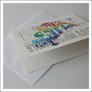 Multipack of 10 - It's the Wee Things in Life - Greeting Cards