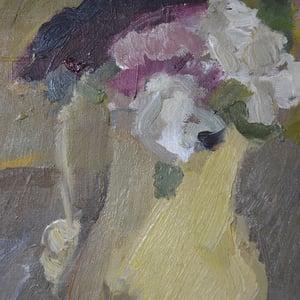 Image of 1938, Swedish Painting, 'Still Life with Bottles,' Per Lindekrantz (1913-1994)
