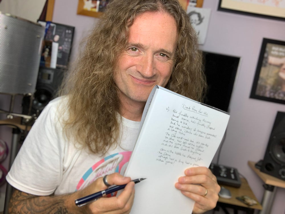 Image of Limited Offer (only 25 available) - Handwritten Lyric Sheets