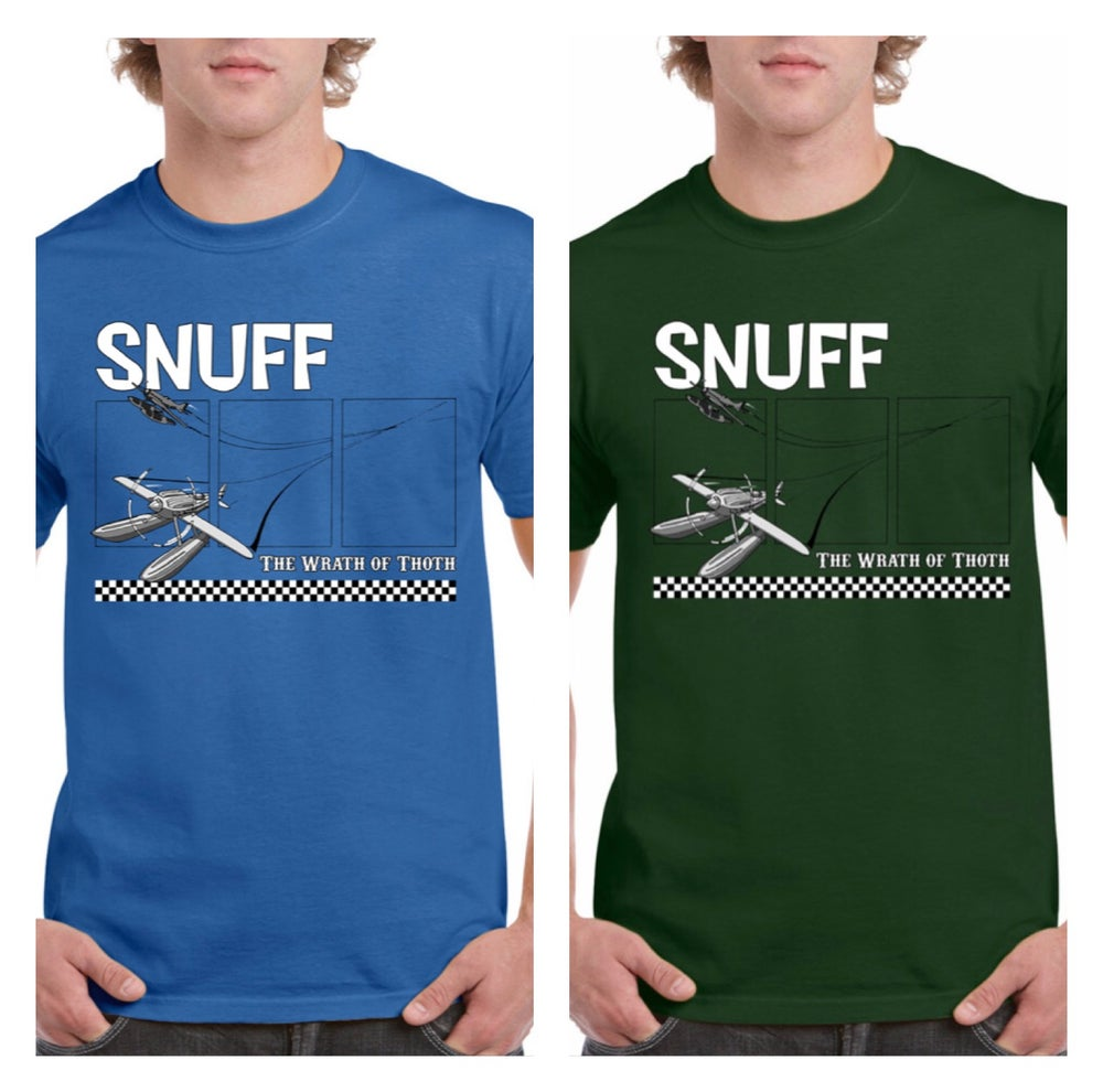 Snuff 'Wrath Of Thoth' T-shirt (Royal Blue, Green, Grey, Maroon, Navy) Men's Sizes