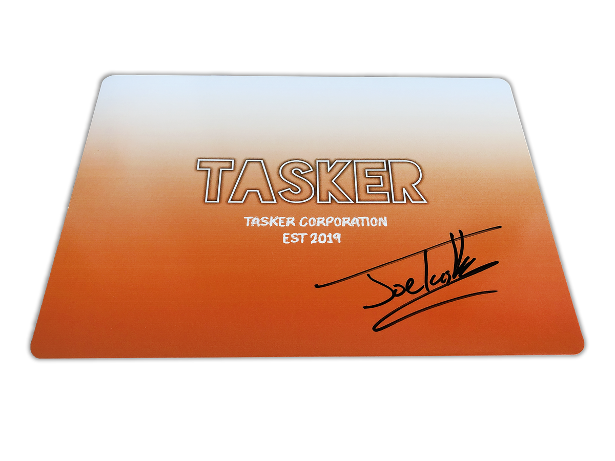 Image of *NEW* Signed Personalised Card - Orange