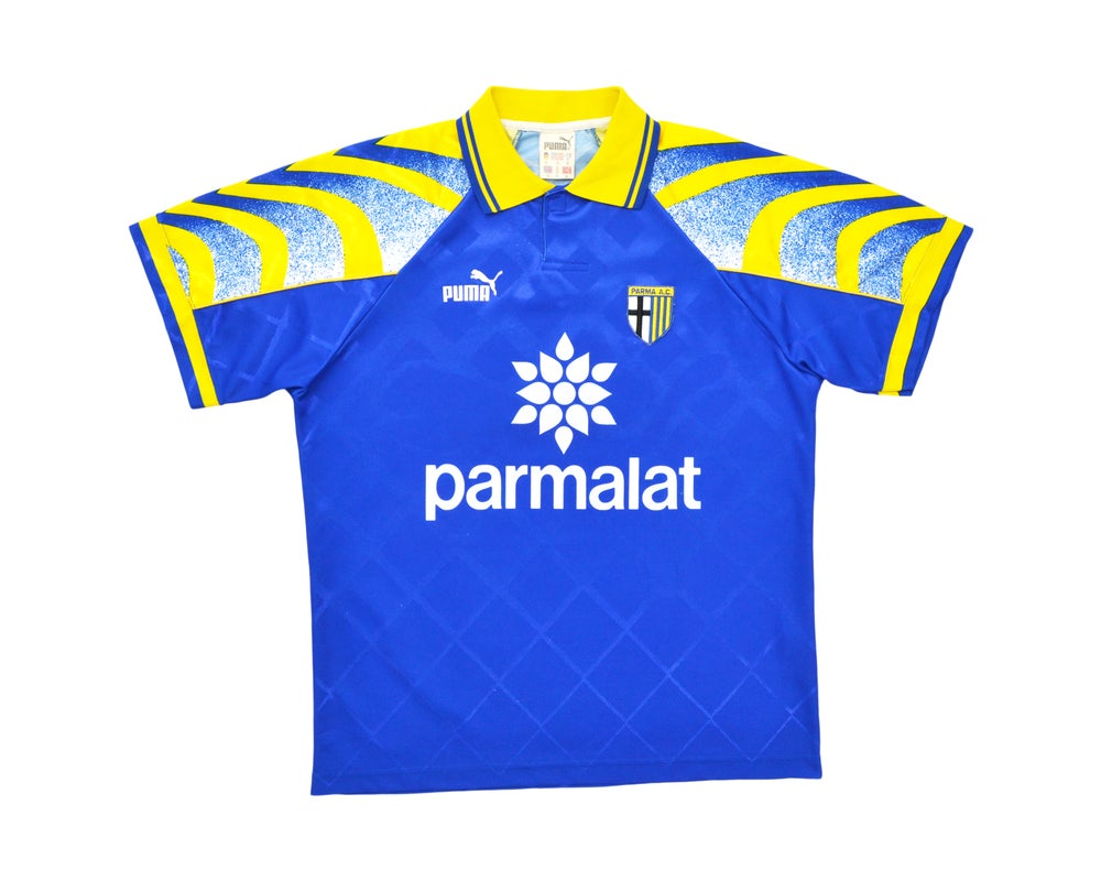 Image of 1995-97 Puma Parma Away Shirt S