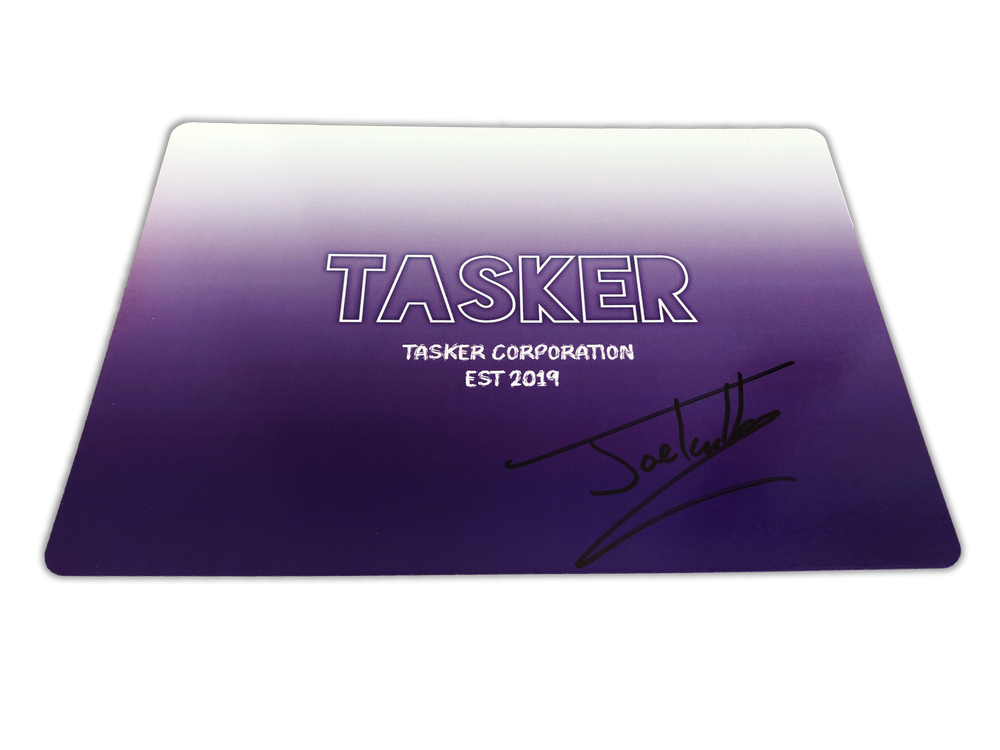 Image of Signed Personalised Card - Purple