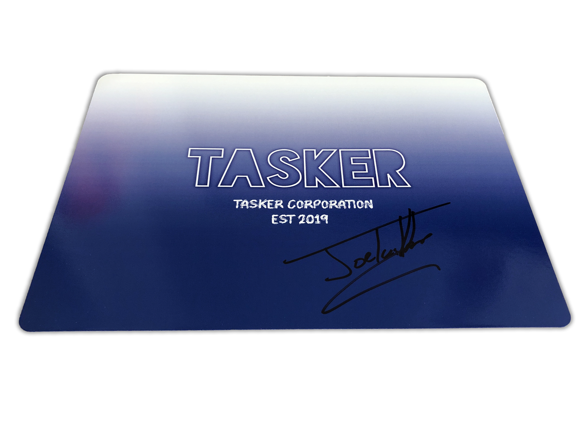 Image of Signed Personalised Card - Blue