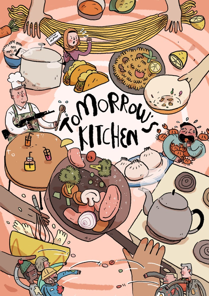 Image of Tomorrow's Kitchen - A Graphic Novel Cookbook