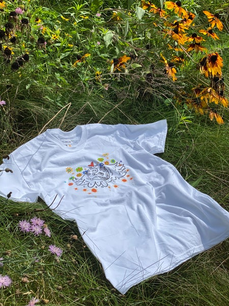Image of flowers-shirt