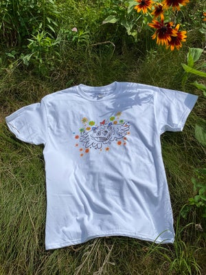 Image of Warkod flowers-shirt
