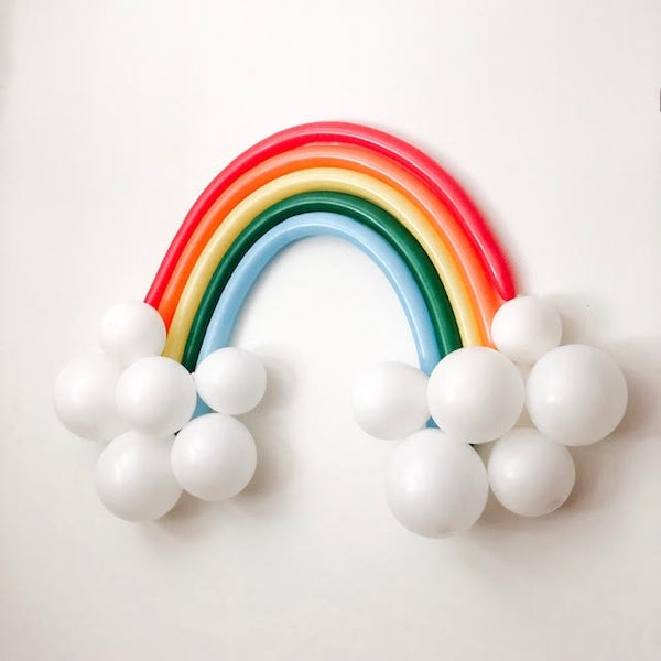 Image of Rainbow Bright DIY Balloon
