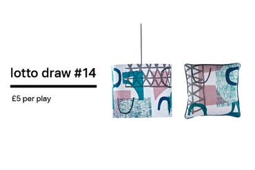 Image of Lotto Draw #14 Assemble/ Configure Cushion + Lampshade