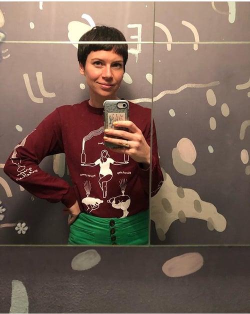 Image of Grape Witches X Alisha Davidson Long Sleeve