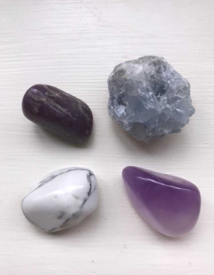 Image of Calm and Serene Crystal Set