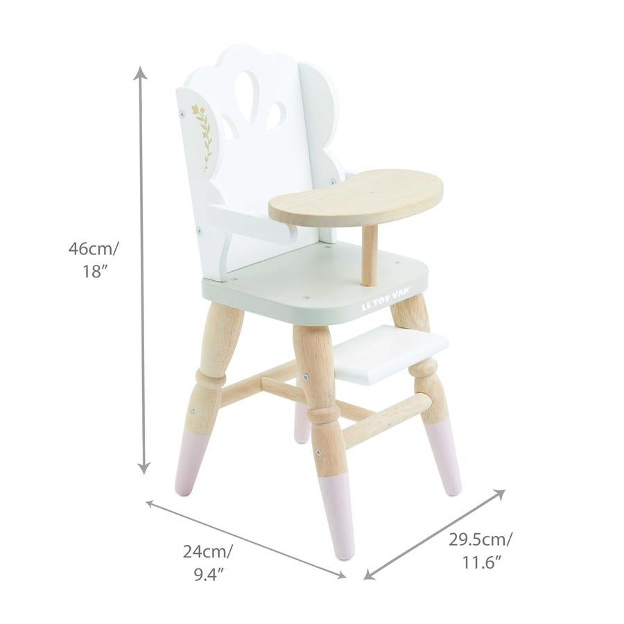 Image of Doll Playset Bundle - Pram, Highchair & Crib