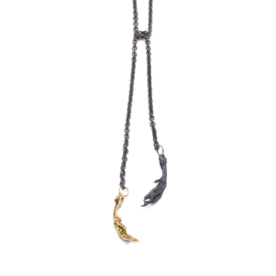 Image of Bird-Foot Chain  Necklace
