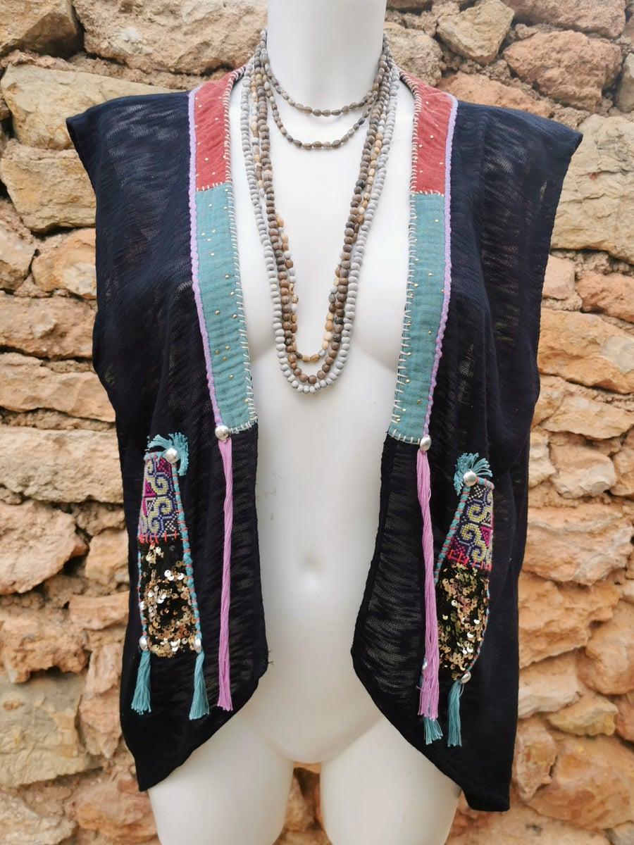 Image of Purple Shamanic Vest