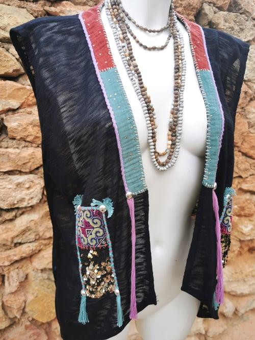 Image of Purple Shamanic Vest