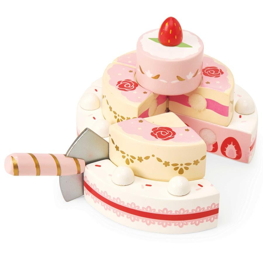 Image of Strawberry Wedding Cake