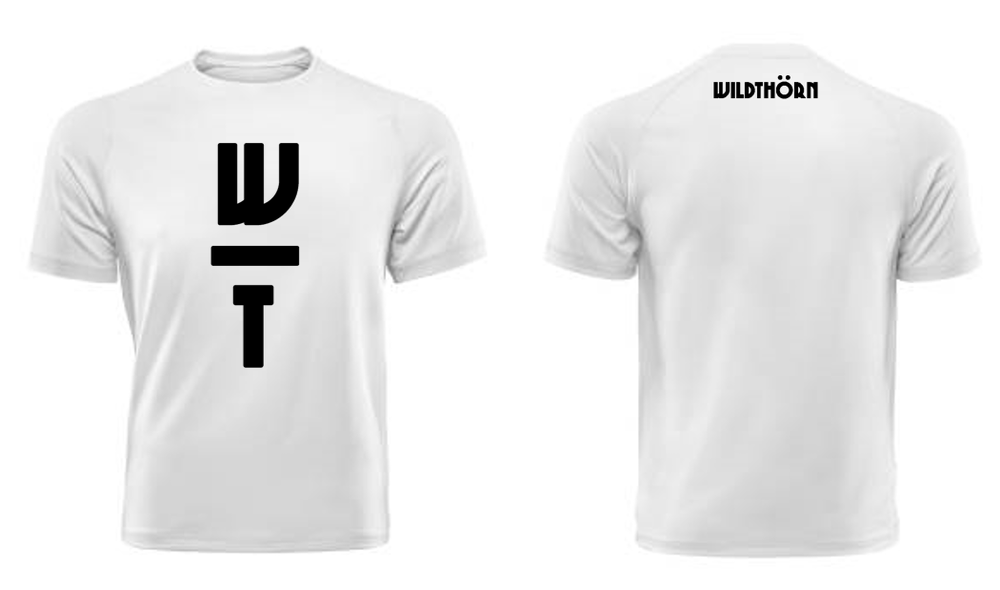 Image of W/T Logo Black with White T-Shirt