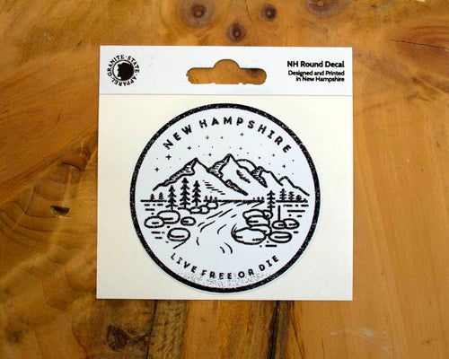 Image of NH Round Sticker Decal