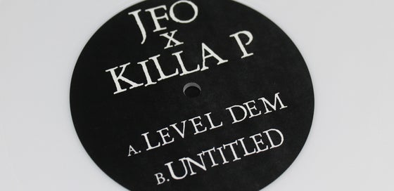 Image of JFO x Killa P - Level Dem/Untitled - Dream Eater Whites 002