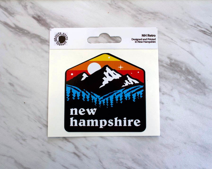 Image of NH Retro Sticker Decal