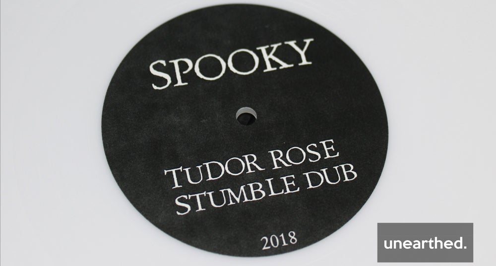 Image of DREAM EATER WHITES 001 - SPOOKY - TUDOR ROSE / STUMBLE DUB - PLAIN 10""