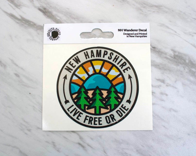 Image of NH Wanderer Sticker Decal