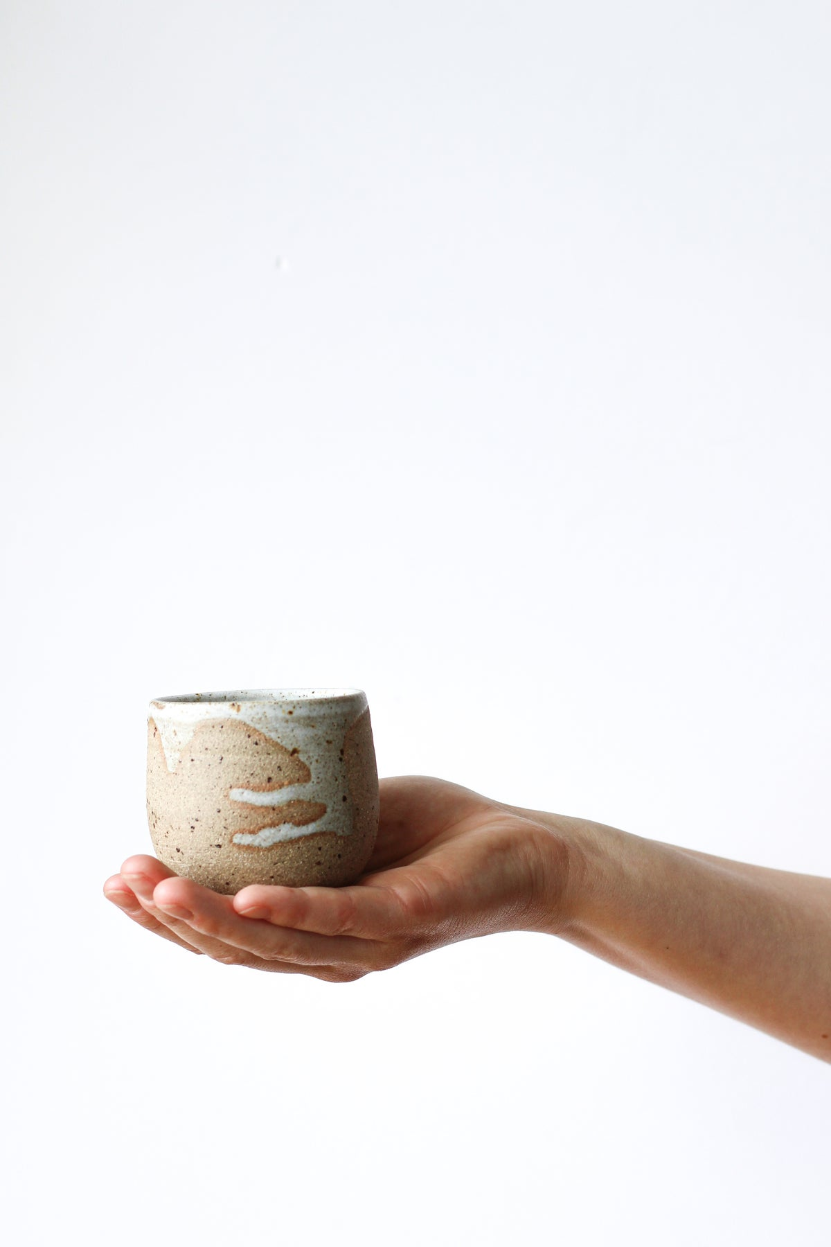 Image of small cup (toasted)
